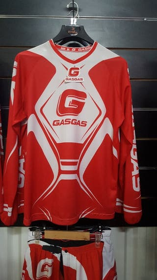 camiseta oficial gas gas trial 2018