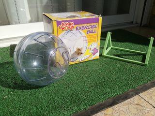 Bola para hamster o jerbo