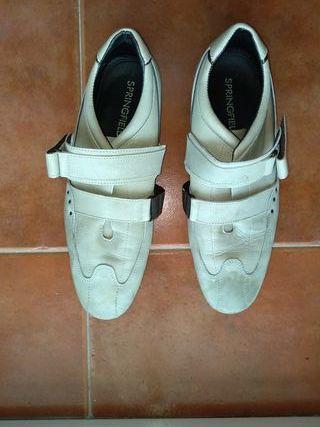 Zapatos de cuero SPF Hombre