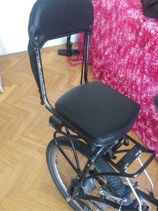 Silla bicicleta para niño