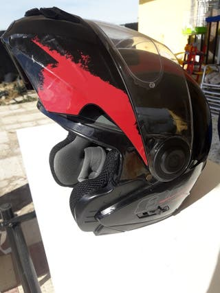 casco moto abatible astone