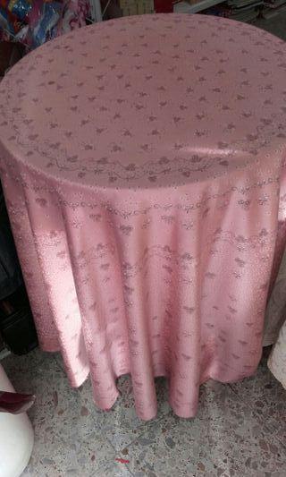 Mesa camilla con funda