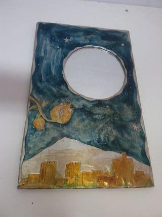 Espejo original hecho a mano
