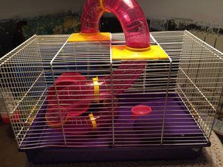 Jaula grande de roedor