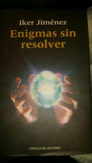 Libro Enigmas sin resolver. Iker Jimenez
