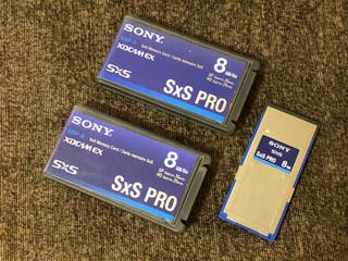 Tarjeta SxS Sony 8gb
