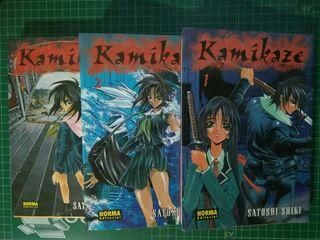 manga: Kamikaze, tomos 1, 2 y 3