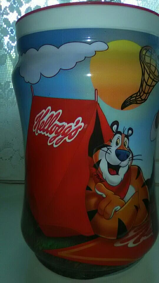 Bote Kelloggs cereales