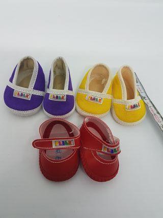 Zapatos para muñecas 6cm