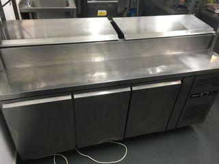 mesa Ensaladera refrigerada