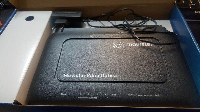 Router y fibra