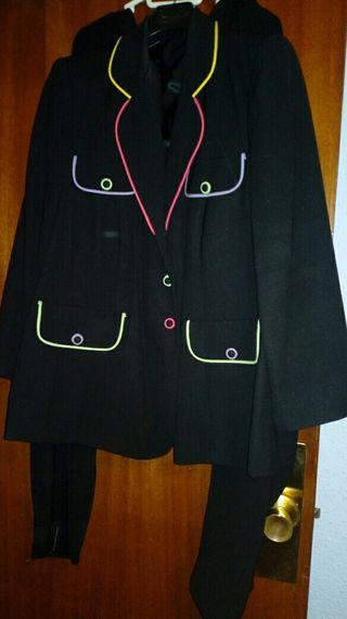 traje chaqueta mujer talla grande