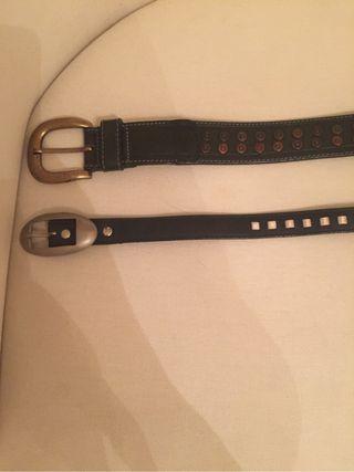 2 cinturones talla 70