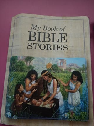 libro en Inglés:my book of bible stories