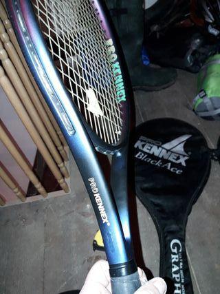raquetas tenis con funda