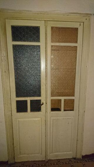 lote puertas antiguas