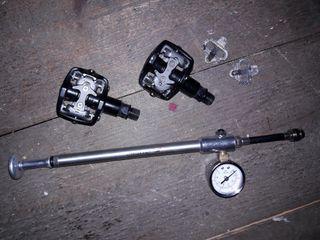bomba suspension marzochi y pedales automáticos