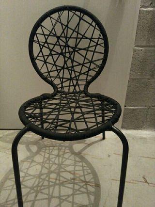 oportunidad 6 sillas de cuerda nuevas.