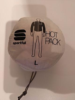 chaqueta cortavientos chubasquero sportful
