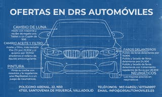 Ofertas para tu coche. Taller DRS Automóviles