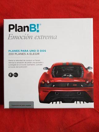 """plan b """"emoción extrema"""""""