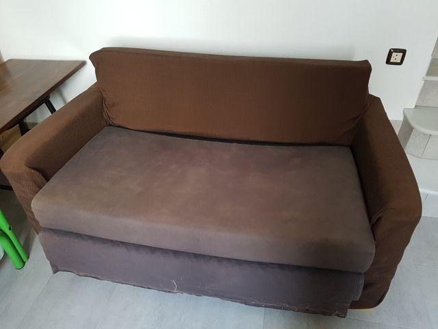 Sofa Cama Solsta Ikea De Segunda Mano Por 25 En Conil De La