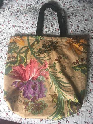 Bolsa playa hecha a mano
