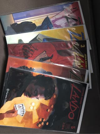 Comics lando