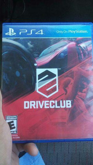 Driveclub juego de Ps4