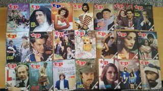 Lote 21 Revistas Revista TP teleprograma año 1984.