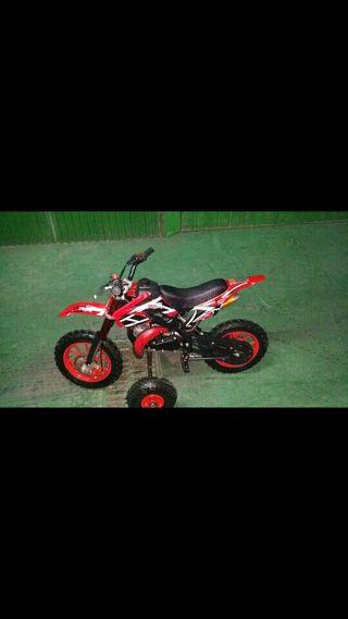 moto infantil 50 cc gasolina