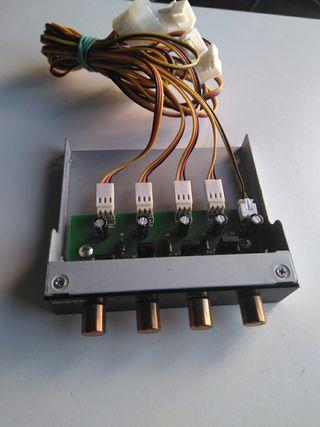 Mando ventiladores de PC