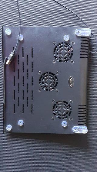 Base refrigeradora portatil