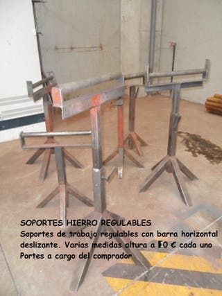 CABALLETES TRABAJO REGULABLES