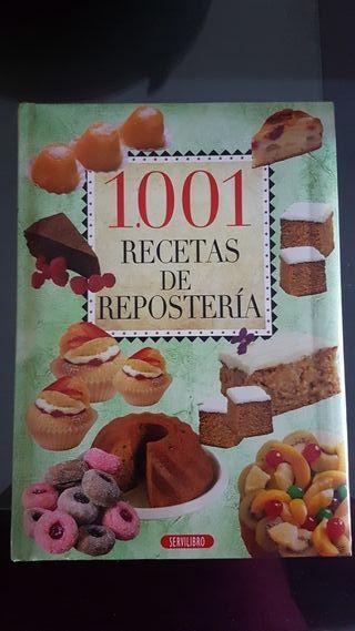 Libro de reposteria - nuevo