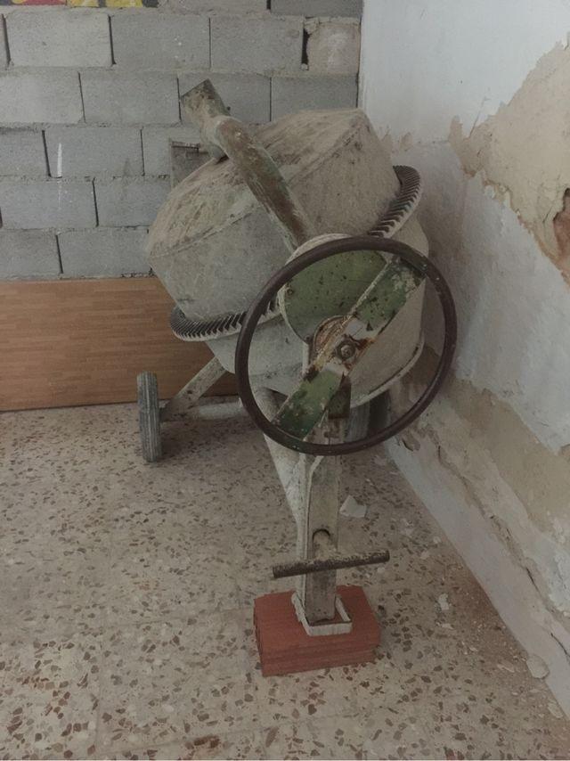 Hormigonera eléctrica