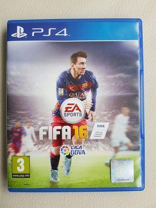 Fifa 2016 juego PS4