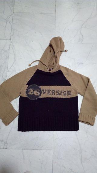 jersey lana con capucha Nuevo + regalo