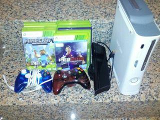 Xbox 360 y 11 juegos