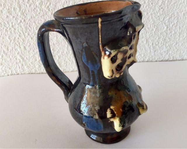 Jarra de vino cerámica de Cuenca