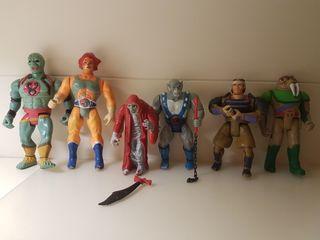 Lote Thundercats Lnj Años 80