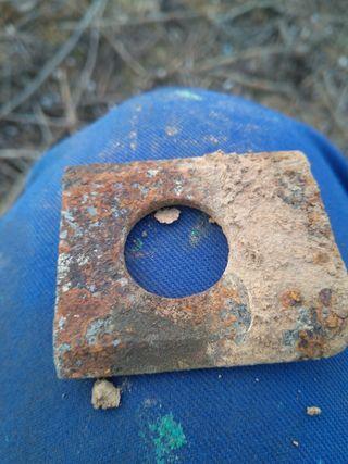 cuchilla de arado antigua