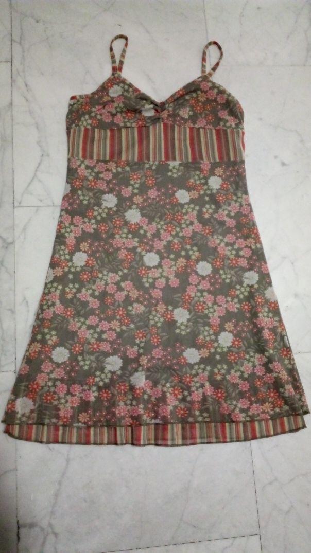vestido corto tirantes + regalo