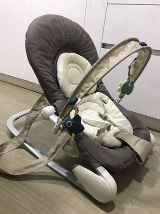 hamaca de bebé en perfecto estado marca chicco