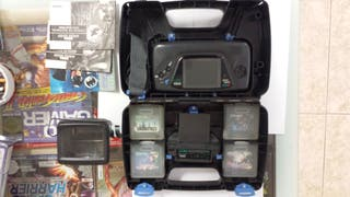 SEGA Game Gear 4 Juegos+Maletin+TV Turner+Lupa