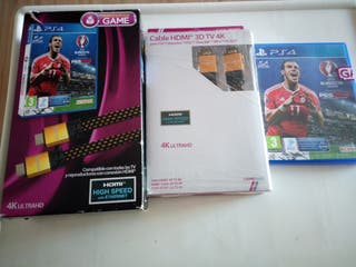 Pes 2016 +cable hdmi ps4