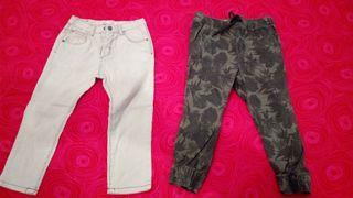 lote pantalones niño 3años