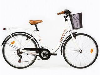 """Bicicleta de paseo ruedas 26"""" aluminio Shimano 18v"""