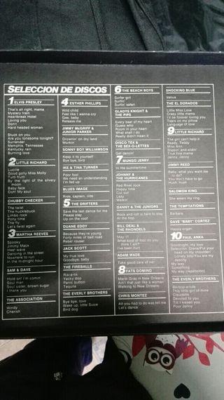 Colección de vinilos de Rock & Roll