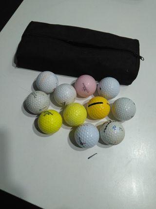 kit de bolas de golf